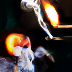 Qualm und Feuer