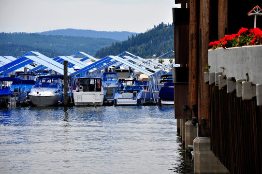Blue Awnings Boats