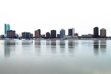 Windsor Skyline Reflections