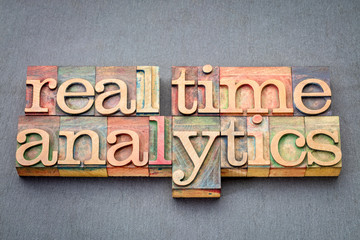 real time analytics in wood type