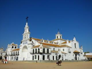 El Rocío es una pequeña aldea del municipio de Almonte (Huelva) Andalucia