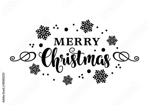 Christmas Lettering.Merry Christmas Lettering Stock Image And Royalty Free