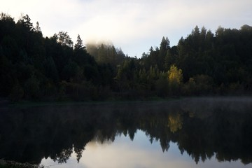 Riverfront Regional Park - two beautiful lakes for fishing, kayaking, canoeing and stand-up paddling. A trail loops around the larger lake, Lake Benoist, with beach on the Russian River, redwood.