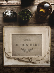 Wall Mural - Design space photo frame