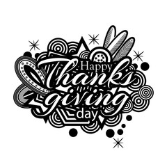 Happy thanks giving day  symbol  for flyer, poster, banner, web header.