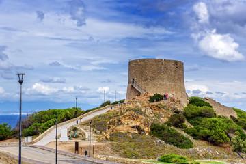 Torre di Longonsardo Santa  Teresa di Gallura Aussichtsplattform Sardinien