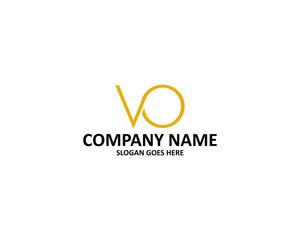 vo letter logo