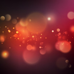 Abstract color bokeh background. EPS 10 vector