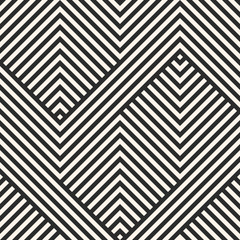 Stripes pattern. Vector geometric lines pattern. Abstract striped ornament. Black and white