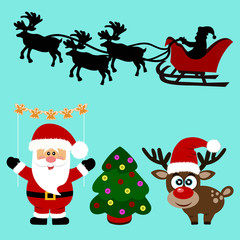 Christmas icons. Collection.