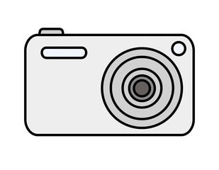 デジタルカメラ(シルバー)