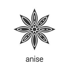 Anise glyph icon