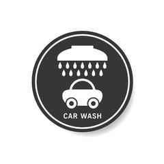 car wash icon illustration