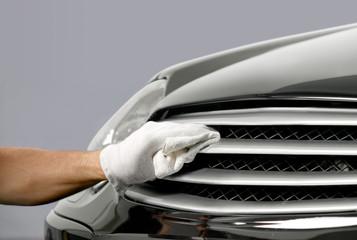 Car chrome polish