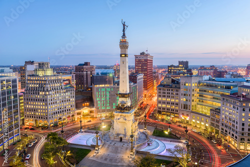 Fototapete Indianapolis, Indiana, USA