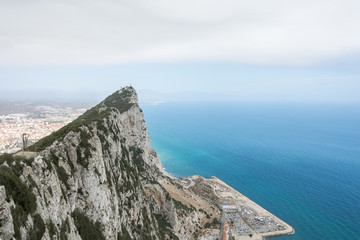 Gibraltar Upper Rock view