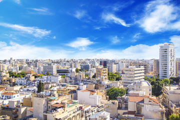 Printed roller blinds Cyprus Nice view of Nicosia, Cyprus
