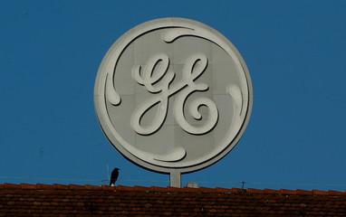 Logo of General Electric is seen in Baden