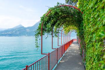 promenade Varenna Lake Como, Italy Wall mural