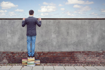 Bücher lesen erweitert den Horizont