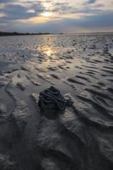 Sand spaggetti left by Arenicola marina sea worm