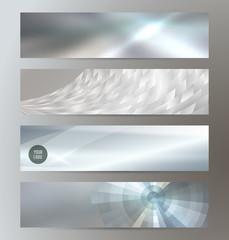 set design header website background glow light metal01