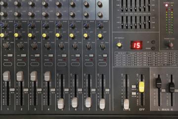 f sound mixer control