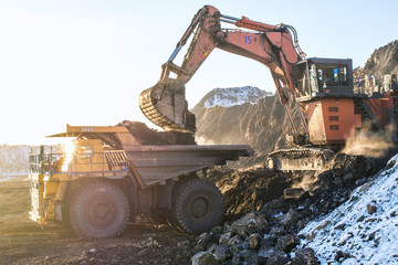 type of coal mine and working machinery