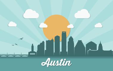 Wall Mural - Austin skyline