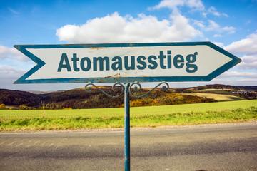 Schild 251 - Atomausstieg