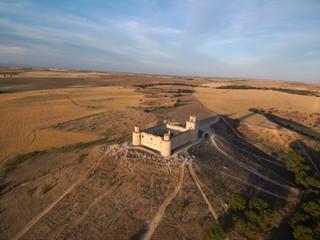 Castillo de Barcience en la provincia de Toledo, Castilla La Mancha (España)