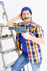 Guy with repair rools