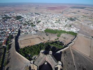 Belmonte, poblacion historica de Cuenca (Castilla la Mancha, España)