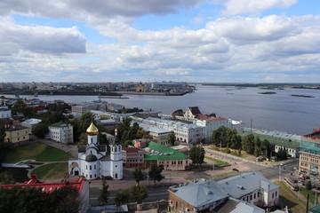 Views of Nizhniy Novgorod, Russia, 2017