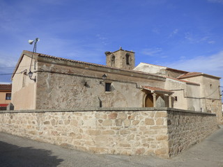 Castillo de Belvís de Monroy ( Caceres, Extremadura)  declarado patrimonio histórico de España