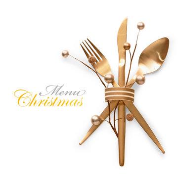 Christmas menu concept