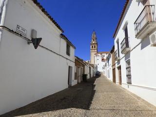 Burguillos del Cerro,pueblo de Badajoz Extremadura, España