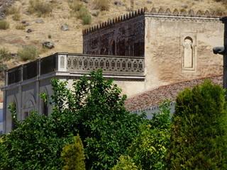 Castillo de Burguillos del Cerro en Badajoz, Extemadura es de origen es árabe del siglo XIV