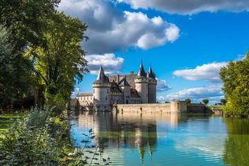 Chateau de Sully-sur-Loire, France Wall mural