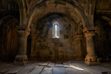 Interior of Sanahin Monastery of Armenia