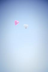 Herz-Luftballons