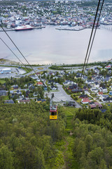 The Tromso Cable Car in Norway.
