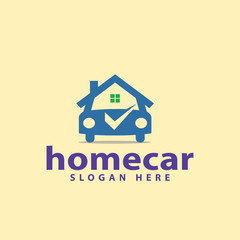 Home Car Logo vector