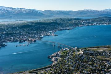 The Tromso Bridge in Norway.