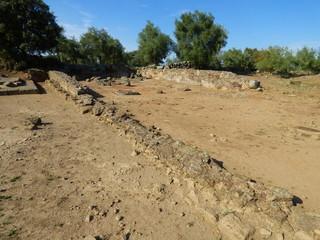 Ciudad romana de Cáparra, Caceres, Extremadura