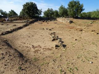 Ciudad romana de Cáparra  en Oliva de Plasencia ( Caceres, Extremadura)