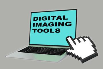 Digital Imaging Tools concept