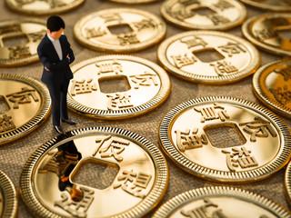 仮想通貨と男性