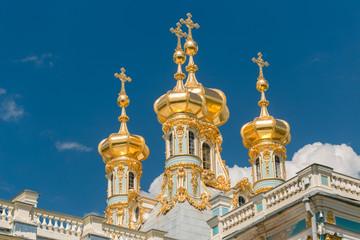 Petersburg, Russia - June 29, 2017: Katherine's Palace in Tsarskoe Selo Pushkin.