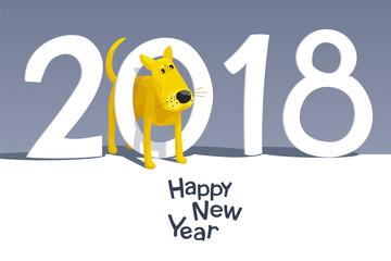 Yellow dog 2018